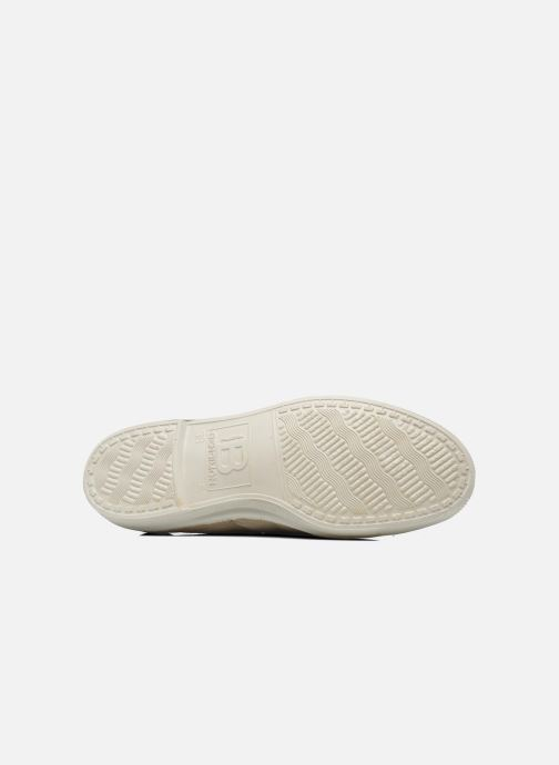 Baskets Bensimon Tennis Lacets W Beige vue haut